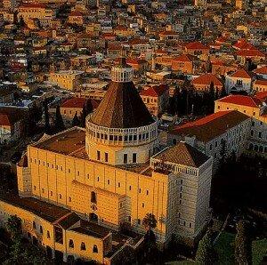 A scene from modern-day Nazareth